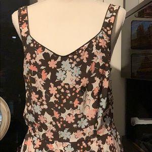 Ann Taylor Loft style floral dress